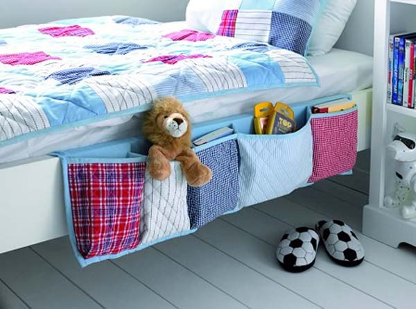 hanging bed organizer