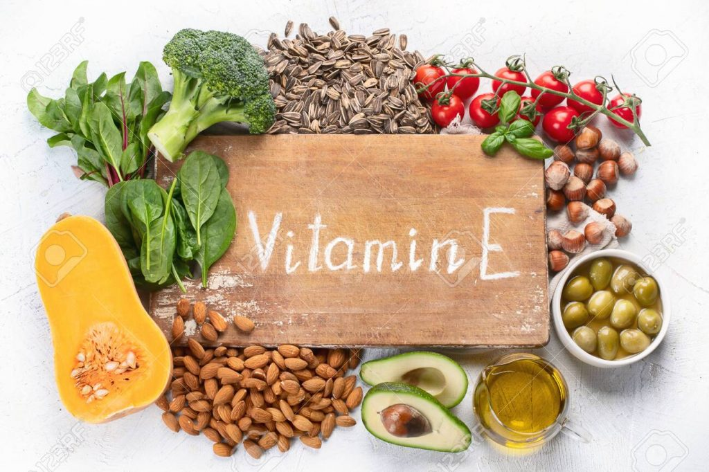 Foods rich in vitamin E