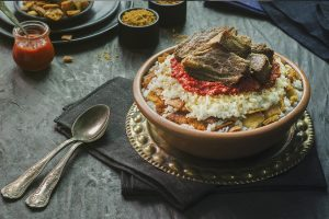 Egyptian Fatteh Recipe - Eid El Adha 2020