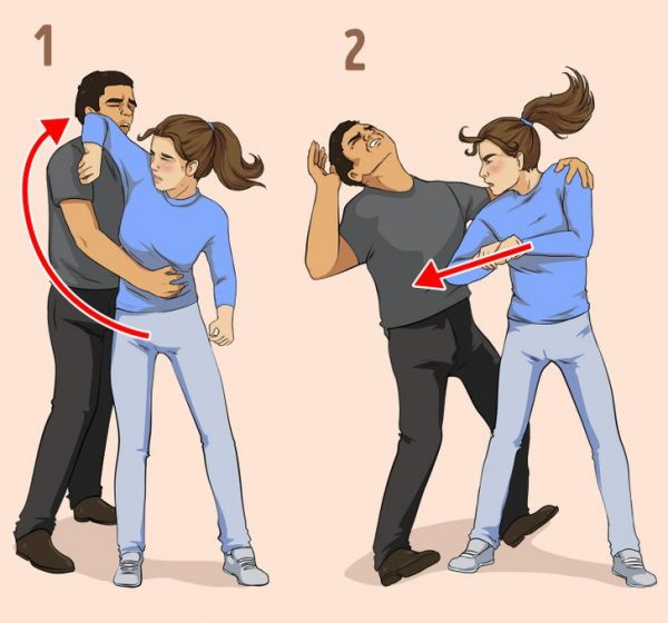 self defense tips from the side