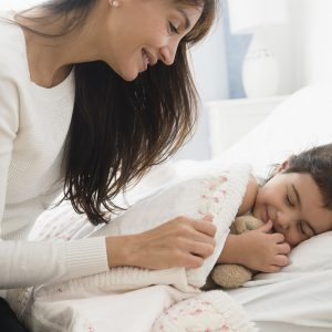 single mom co-sleeping