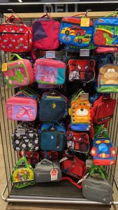 school lunch boxes and bags