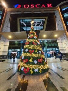 Christmas tree in Cairo