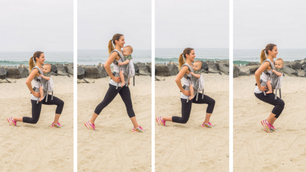 Baby-wearing exercises