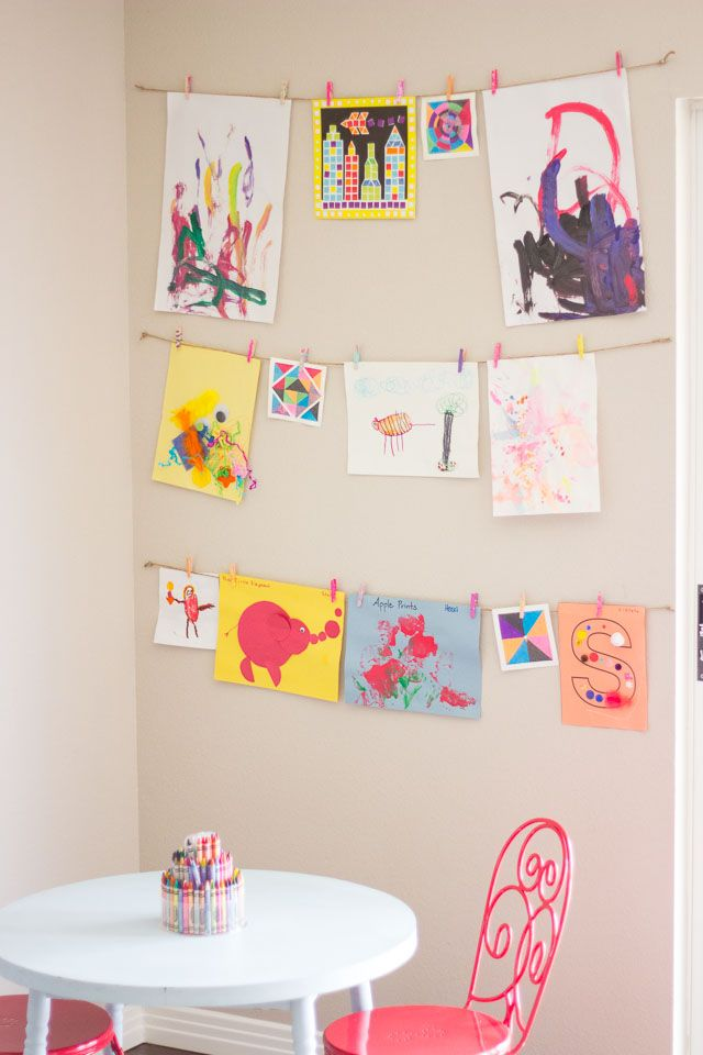 Girl's bedroom painting ideas