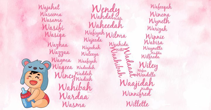 Baby names with letter W