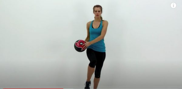 standing abs exercise