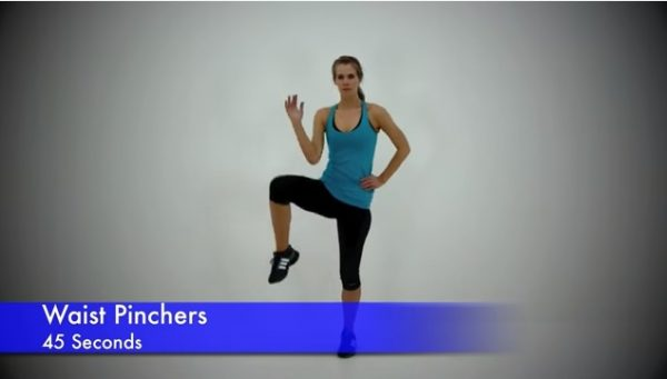 standing exercises for belly fat