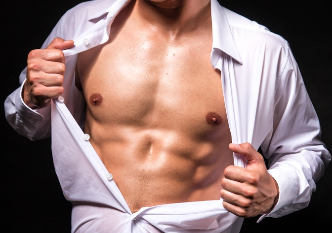 Erogenous zones for males